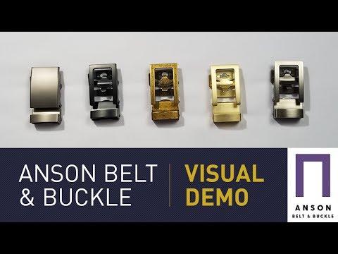 The Anson Belt Advantage: A Ratchet Belt Visual Demo | GENTLEMAN WITHIN