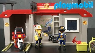 City Action Take Along Fire Station from Playmobil