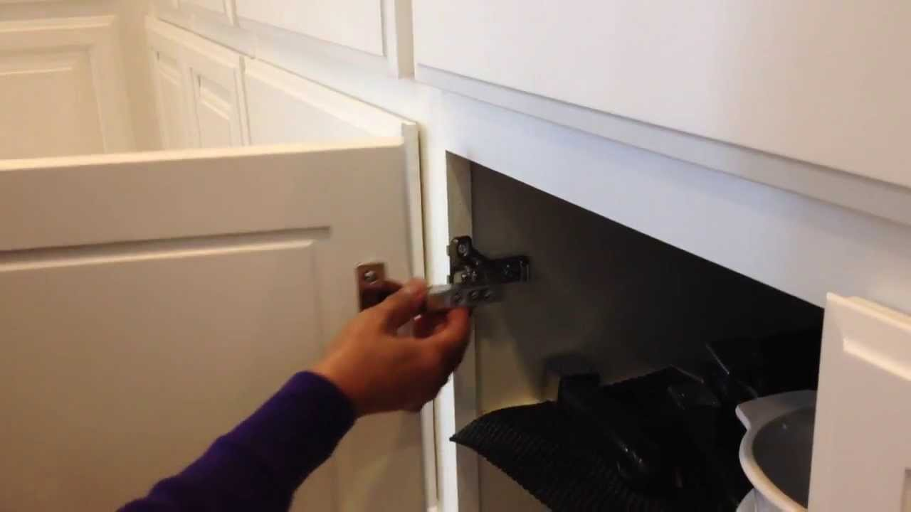 Taylor Cabinet Door Co. Hanging New Cabinet Doors With Euro Hidden Hinges  1 800 852 7087   YouTube
