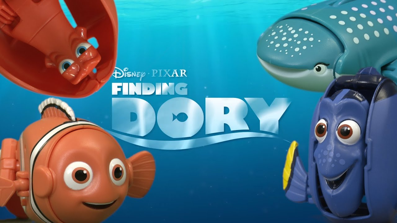 Disney Pixar Finding Dory Hatch n Heroes Nemo Transforming Egg Bandai 2016 NEW