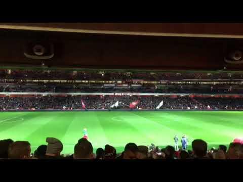 Arsenal V Chelsea Light Show!!
