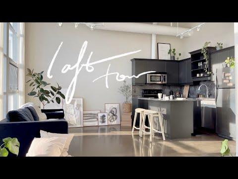 my loft apartment tour | minimalist scandinavian decor, oppo