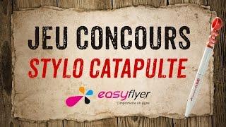 Stylo catapulte personnalisé - easyflyer