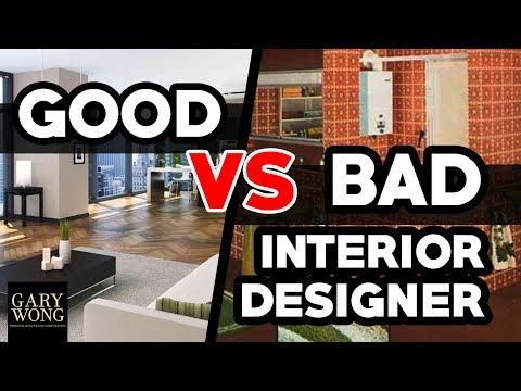 Good Interior Designer VS Bad Interior Designer