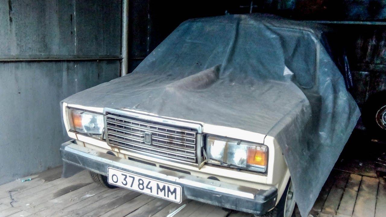 Нашли НОВУЮ семерку ВАЗ-2107, простоявшую 30 лет в гараже ...