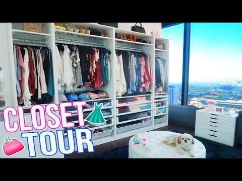 MY CLOSET TOUR!!