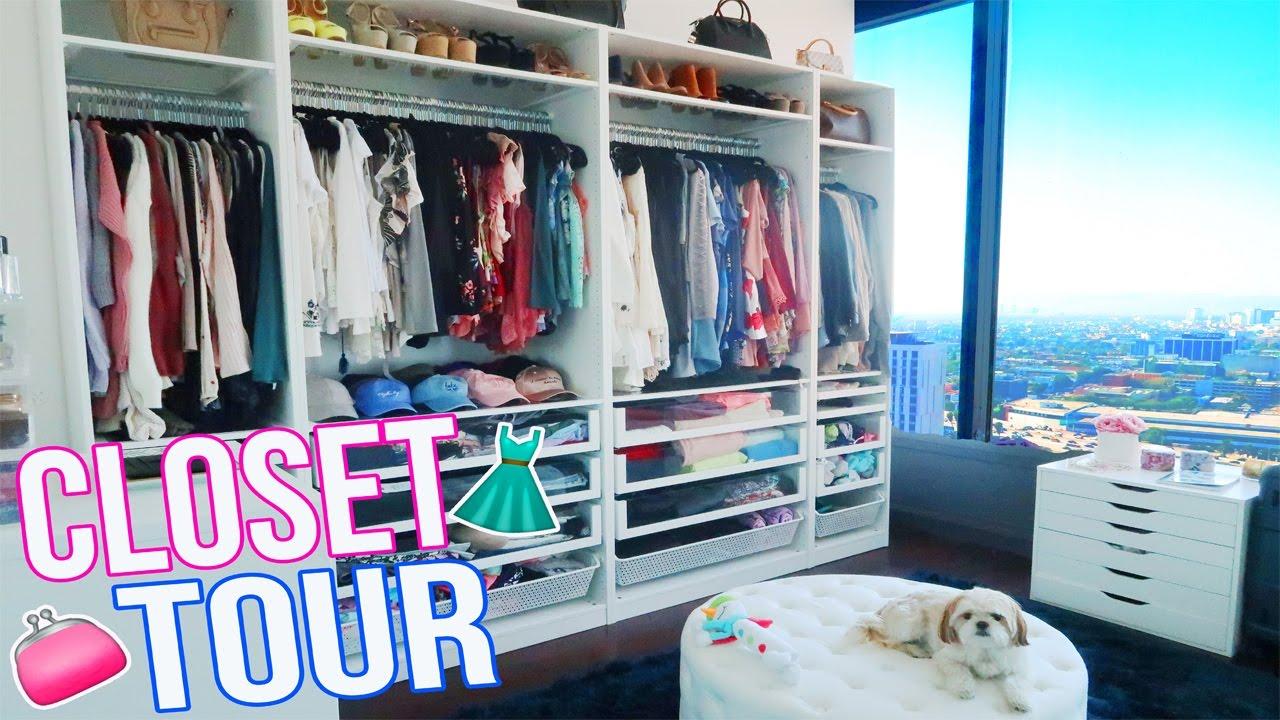 MY CLOSET TOUR!!   YouTube