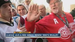 avs vs red wings renew their 1990 s rivalry at stadium series