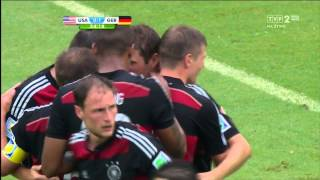 World Cup 2014 Group G USA vs Germany 2014 All Goals/USA - Niemcy