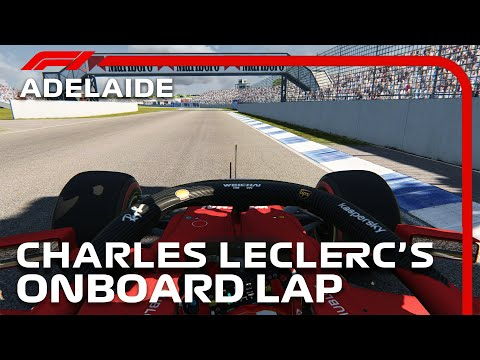 F1 2020 Adelaide Street Circuit | Charles Leclerc Onboard | Assetto Corsa