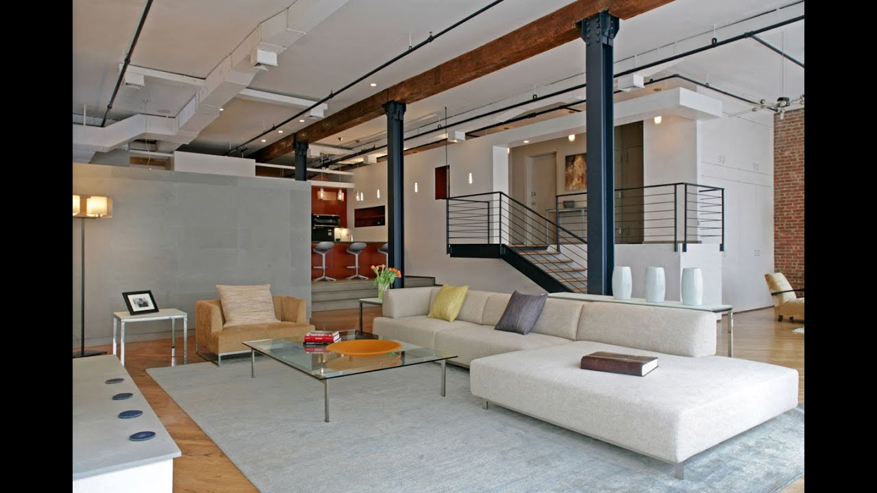 Loft interior design ideas the w g loft by rodriguez Loft living room ideas
