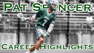 Pat Spencer Loyola Career Lacrosse Highlights