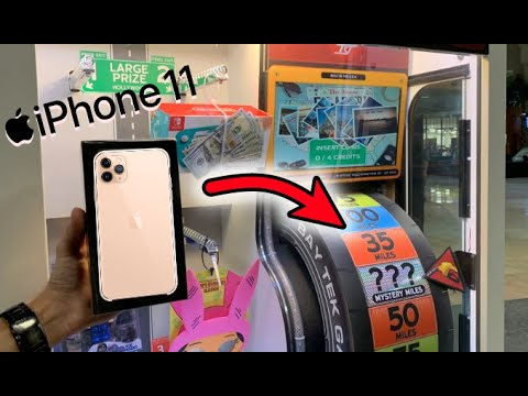 Won Apple iPhone 11 Pro from Arcade Game!