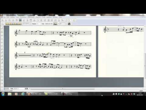 A Whiter Shade Of Pale Sheet Music Youtube