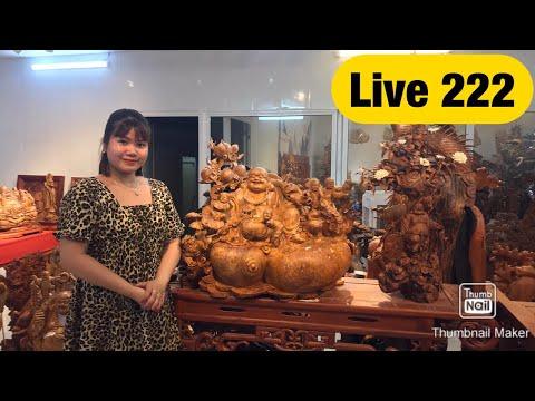 Live 222- Giao lưu, đấu giá vui vẻ cùng Xưởng Tượng Gỗ Nguyễn Hồng 0966336318