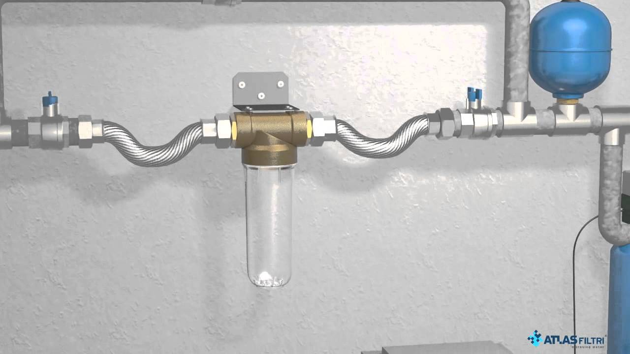 Contenedores para filtros de agua k dp por atlas filtri - Contenedores de agua ...