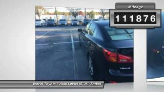 2008 Lexus IS 250 Atlanta GA 85062755