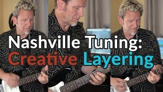 NASHVILLE TUNING - Creative Layering (Wear Your Love/Donovan) - Squier Mini Strat - Arabic Oud