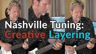 NASHVILLE TUNING - Creative Layering (Wear Your Love/Donovan) - Squier Mini Strat - Arabic Oud
