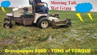 Grasshopper 900D - POWER & TORQUE in a Lawn Mower!