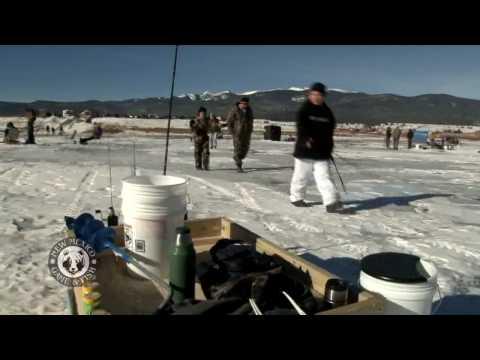 Eagle Nest Lake Ice Fishing