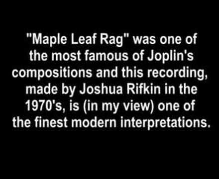 Maple Leaf Rag -Joplin/Rifkin