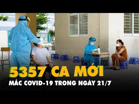 Tối 21-7, cả nước có 2.570 ca COVID-19, TP.HCM vẫn nhiều nhất với 1.817 ca nhiễm mới