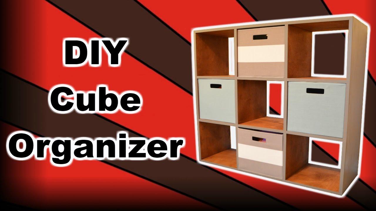 Diy cube organizer youtube solutioingenieria Images