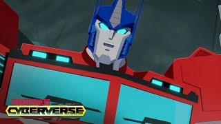 Transformers Cyberverse - Optimus Prime: Leader of the Autobots 🤖 Digital Shorts Ep.4