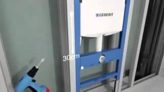 Инсталляция для унитаза geberit DUOFIX UP 182 458.160.00.1(http://www.220-volt.ru/catalog-81240/?ref=yb Характеристики: - Монтажная глубина 12 см. - Самонесущая конструкция. - Ножки оцинков..., 2015-05-07T09:24:16.000Z)