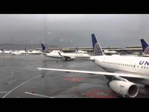 United Airlines Fleet At SFO Airport