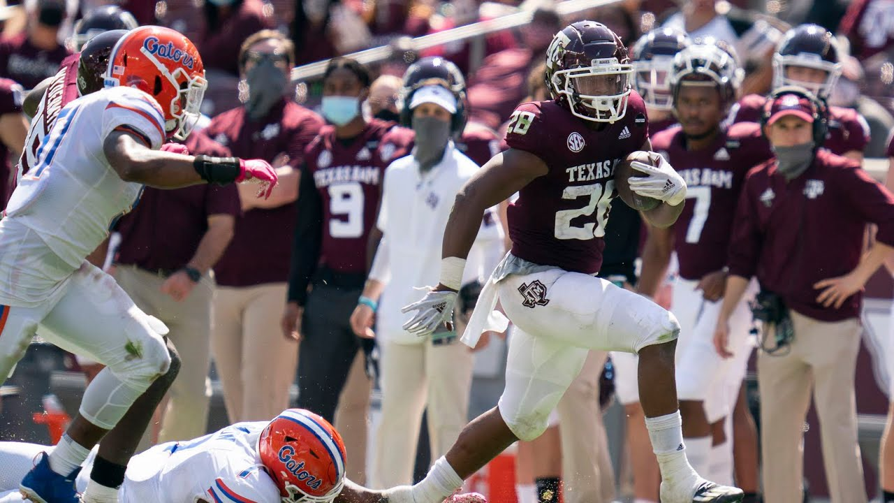 College Football: Isiaiah Spiller, defense lead Texas A&M past LSU
