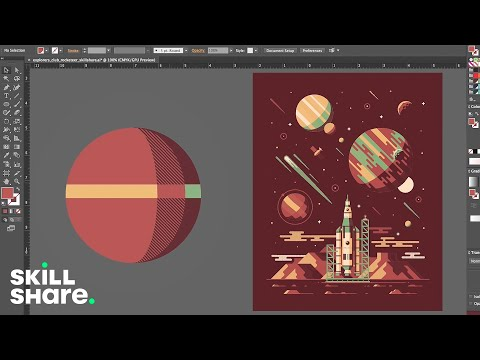 How to Make 3D Realistic Shapes in Adobe Illustrator