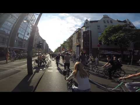 Critical Mass Köln - Juli 2015
