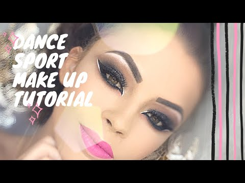 DANCE MAKE UP TUTORIAL: Competition look Marie Denigot