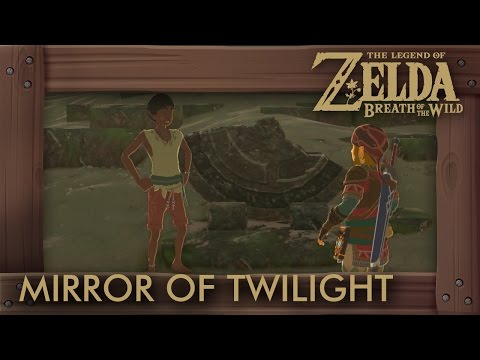 Zelda Breath of the Wild - Mirror of Twilight Location (A Fragmented Monument)