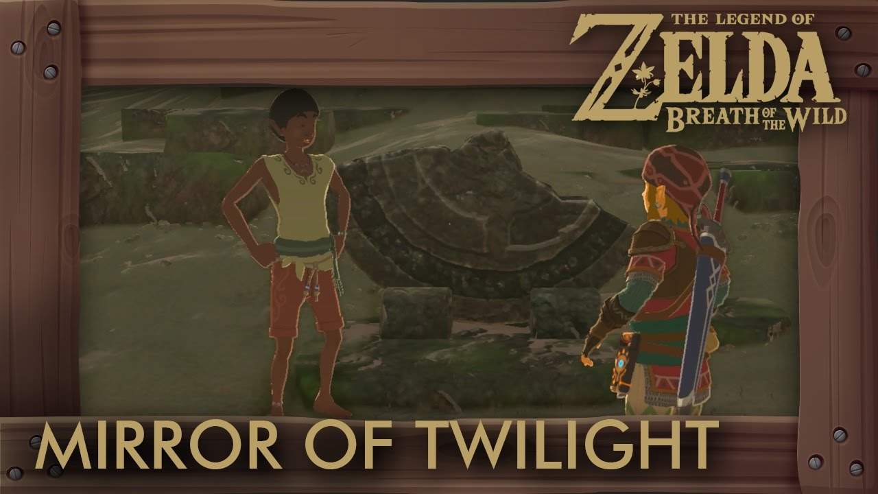 Zelda Breath of the Wild - Mirror of Twilight Location (A Fragmented Monument) - YouTube