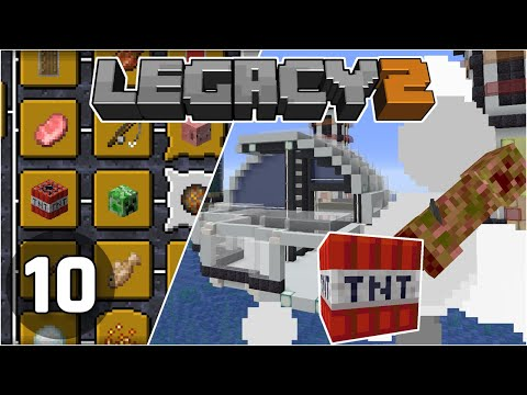 City Expansion & Advancement Hunting - Legacy SMP 2: #10 | Minecraft 1.16 Survival Multiplayer