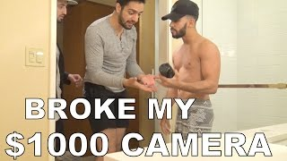 BROKE MY $1000 CAMERA PRANK!!!