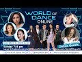 World of Dance Online with Maymay & Riva with Teacher Georcelle and Sir Louie Tan