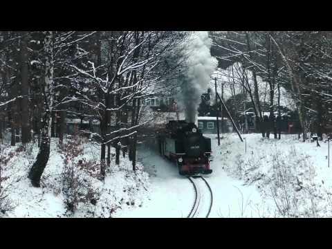 Winterreise unter Volldampf - Zittauer Schmalspurbahn