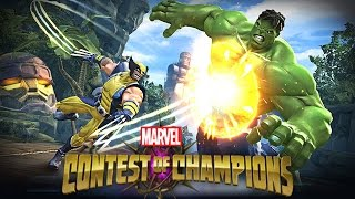Marvel Super Hero Contest Of Champions: Spider-Man, Wolverine vs Iron man,Hunk