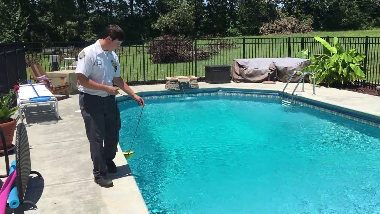 Pool Water Voltage Check Jul 20, 1 15 29 PM - YouTube