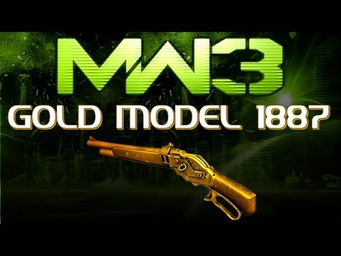 MW3 Online - GOLD MODEL 1887!