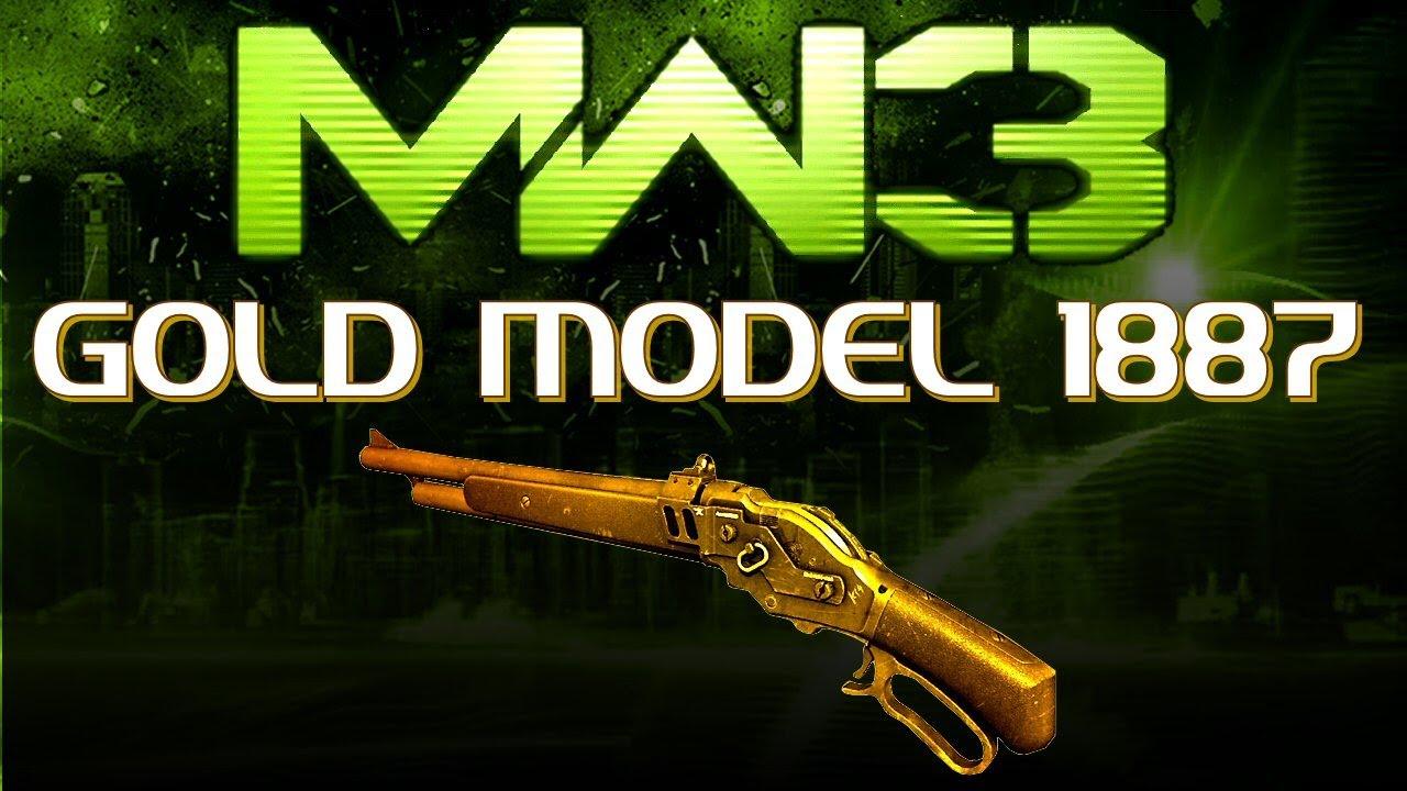 MW3 Online - GOLD MODEL 1887!