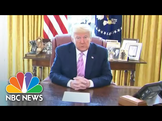 Trump Delivers Easter message As Nation Battles Coronavirus Pandemic | NBC News NOW