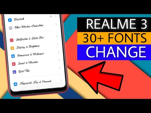 30+ Fonts Change On Realme 3 | How To Change Fonts On Realme 3 | Faisal Alam Official