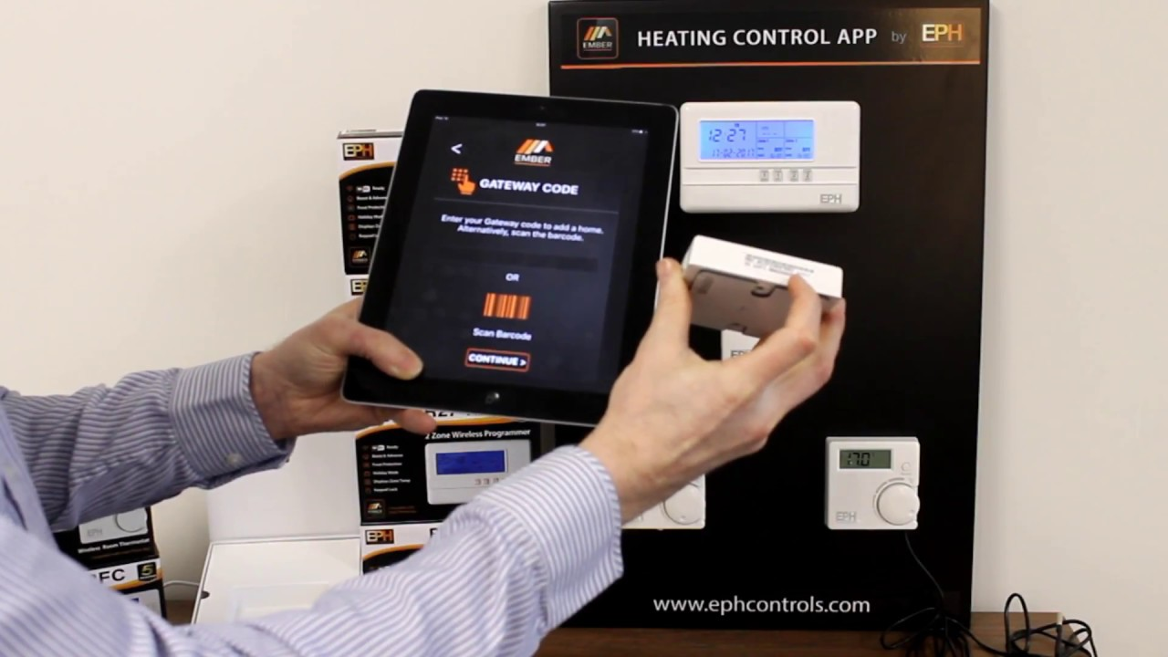 Eph Controls Ember Smart Heating Set Up Youtube Honeywell Central Timer Wiring Diagram