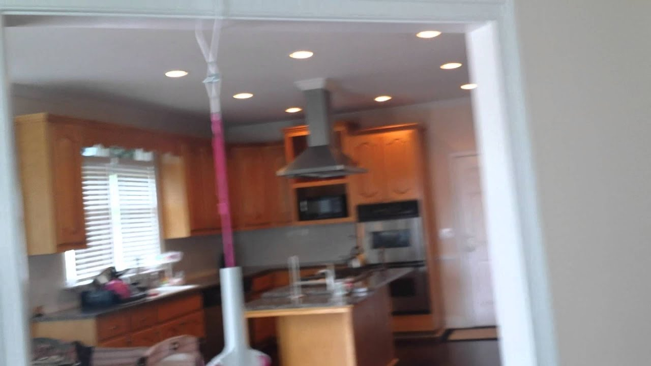 HOME THEATER IN CEILING SPEAKERS / DECK - YouTube