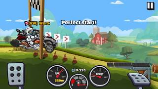 How to get a PB on races every time! Hill Climb Racing 2